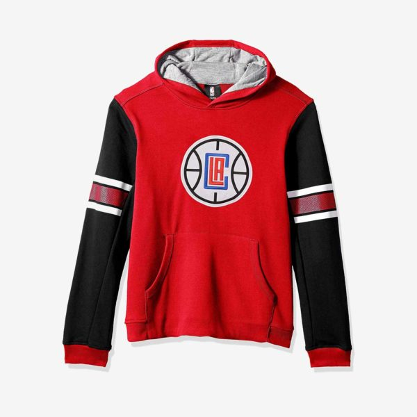 LA Clippers Youth Pullover Hoodie