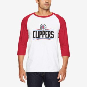LA Clippers 3/4 Sleeve Tee