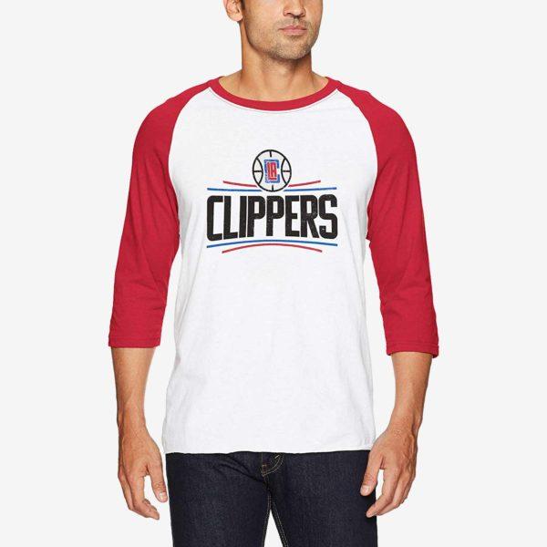 LA Clippers 3/4 Sleeve Tee
