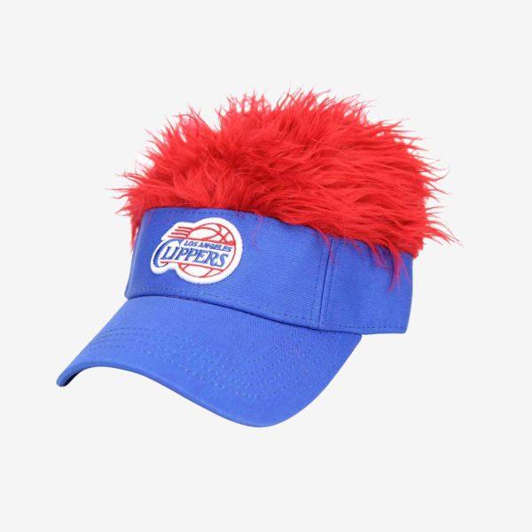 LA Clippers Visor Crazy Hair