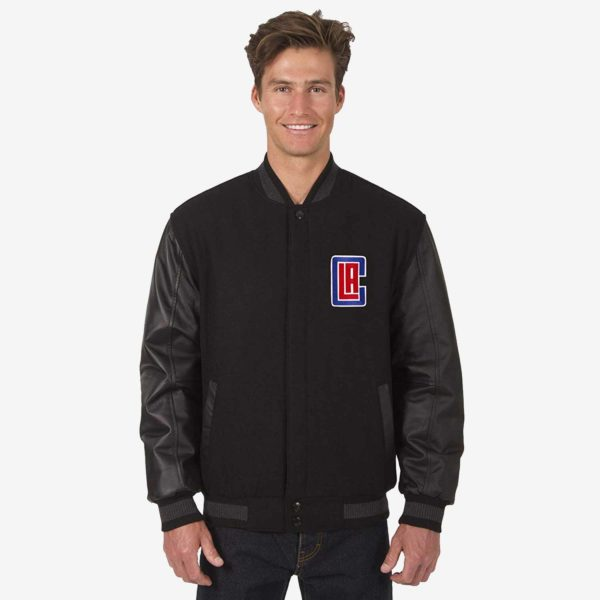 LA Clippers Reversible Varsity Jacket