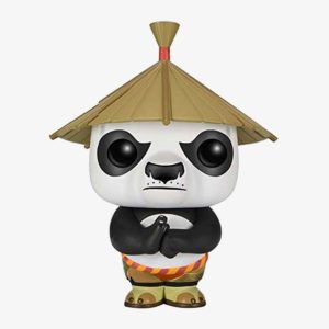 Kung Fu Panda - Po with Hat Action Figure