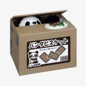 Stealing Coin Bank - Panda