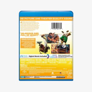 Kung Fu Panda 2 Movie Blu-ray + Digital