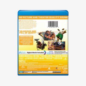 Kung Fu Panda 2 Movie Blu-ray + Digital