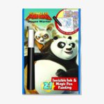 Kung Fu Panda Dragon Warrior Invisible Ink & Magic Pen Painting