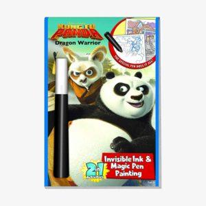 Kung Fu Panda Dragon Warrior Invisible Ink & Magic Pen Painting