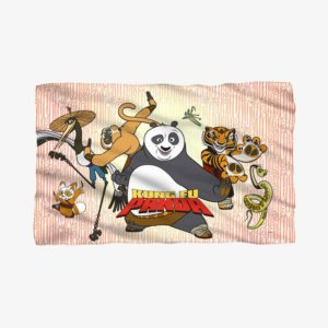 Kung Fu Panda - Fleece Throw Blanket