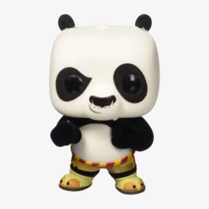 Kung Fu Panda Flocked Po Pop! Vinyl Figure