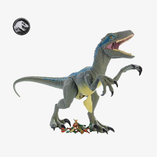 Jurassic World Super Colossal Velociraptor Kids Toy