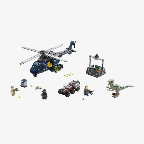 LEGO Jurassic World Blue's Helicopter Pursuit 75928 Building Kit