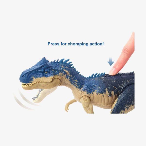Jurassic World Dual Attack Allosaurus Toy