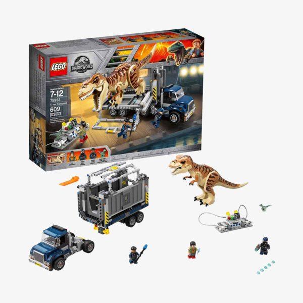 LEGO Jurassic World T. rex Transport